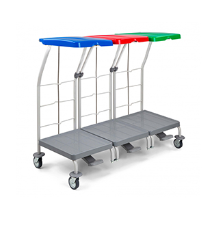 Количка – LAUNDRY TROLLEY 3 x 70 L